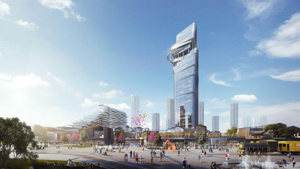 Luzhou urban cultural hub master planning