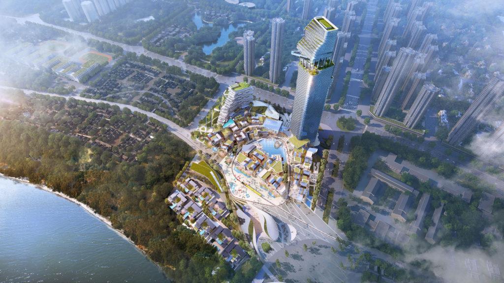 luzhou urban cultural hub master planning riverside